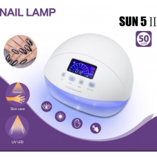 Led лампы гибрид для ногтей Sun LED+UV nail lamp 50 ватт